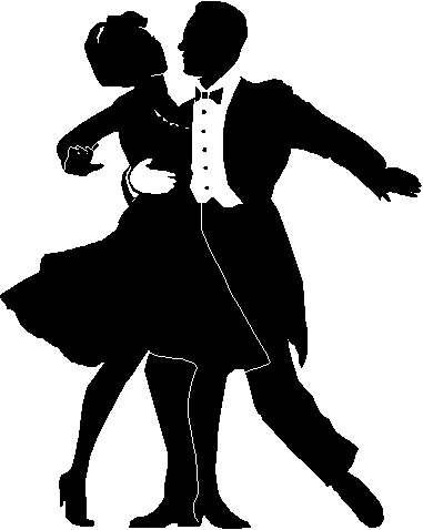 Ballroom dancer clipart